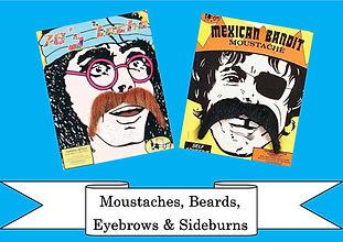 funzone fancy dress and dancewear st albans hertfordshire accessories moustache beards