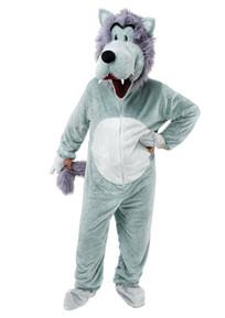 Wolf Mascot