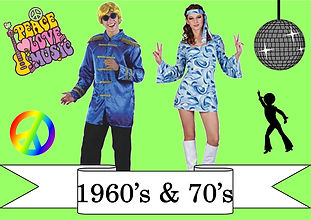 funzone fancy dress and dancewear st albans hertfordshire costumes to buy 1960s and 1970s