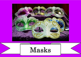 funzone fancy dress and dancewear st albans hertfordshire accessories masks masquerade
