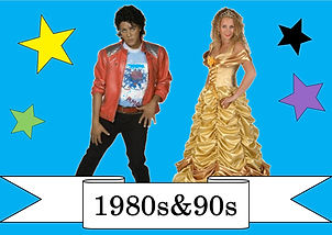 funzone fancy dress and dancewear st albans hertfordshire costumes to hire 1980s and 1990s