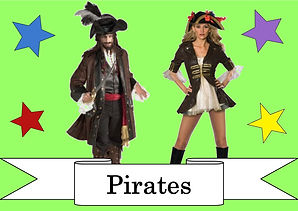 funzone fancy dress and dancewear st albans hertfordshire costumes to hire pirates