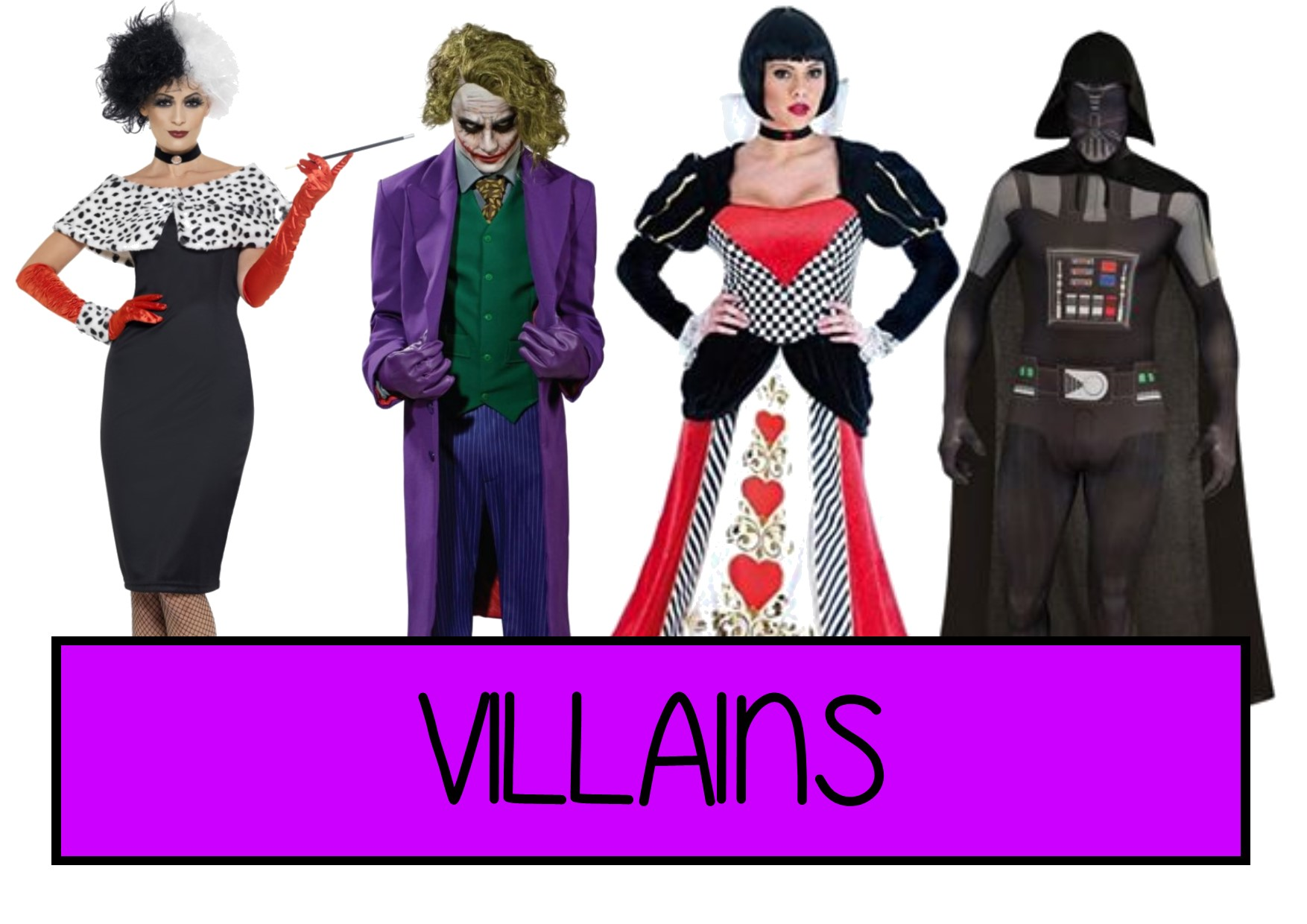 villains fancy dress ideas