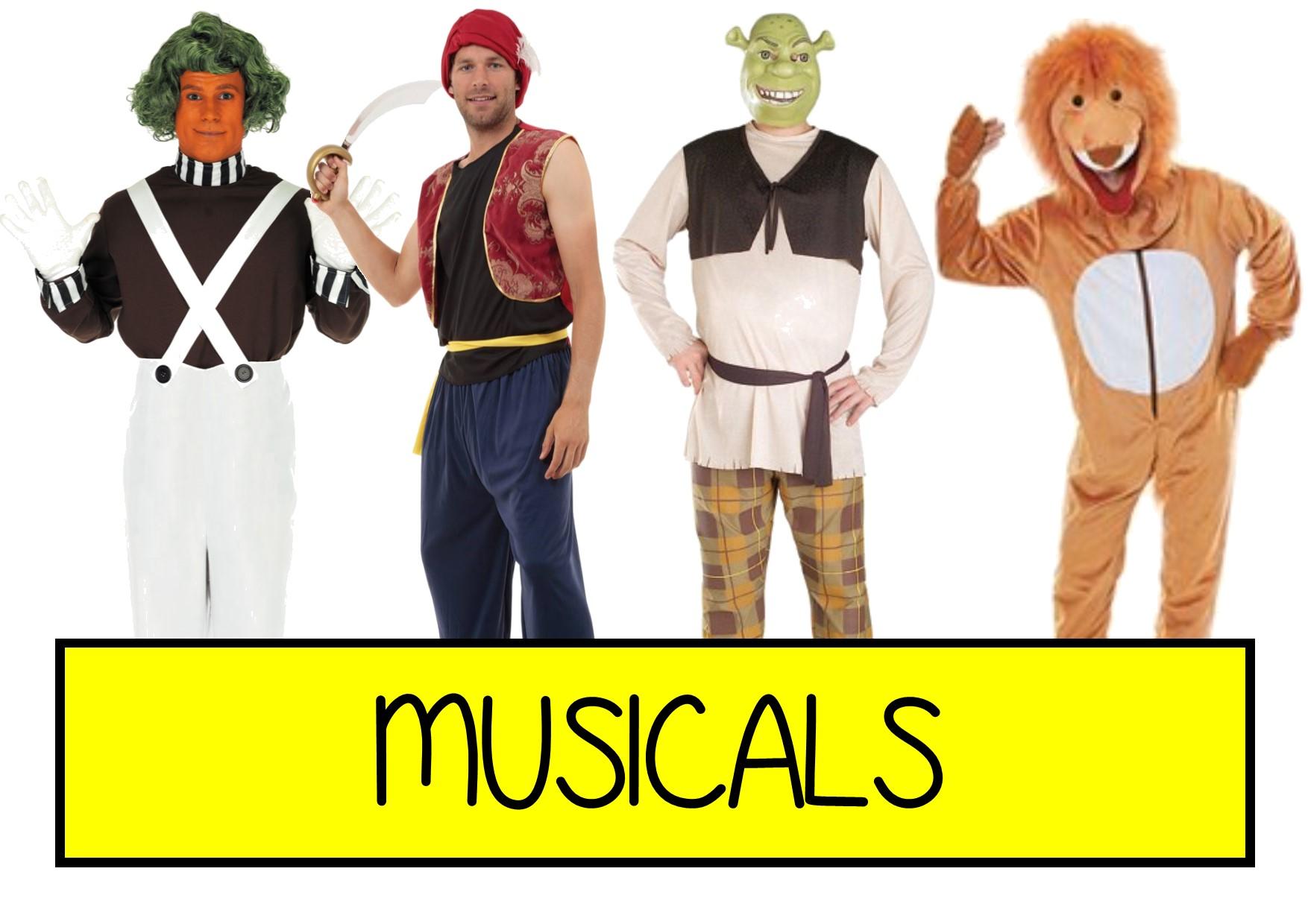 musicals fancy dress ideas