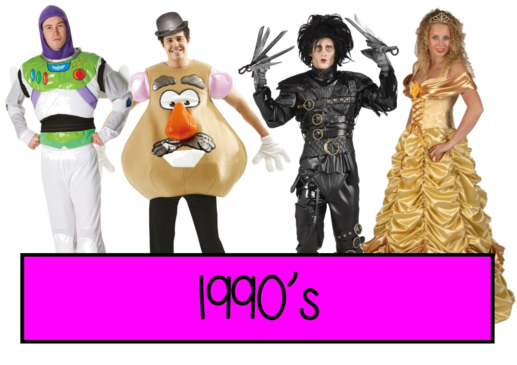 1990s fancy dress ideas