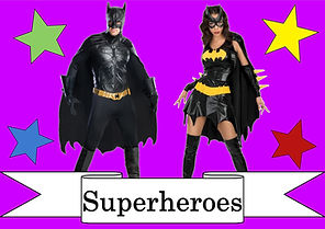 funzone fancy dress and dancewear st albans hertfordshire costumes to hire superheroes marvel dc