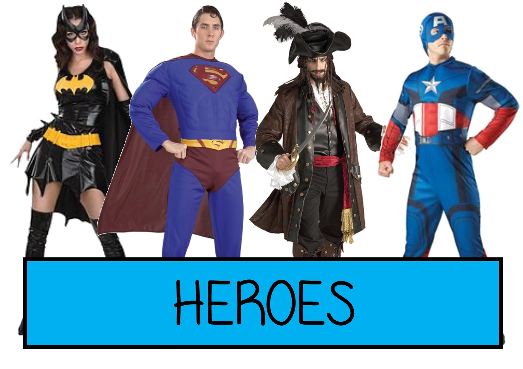 heroes fancy dress ideas