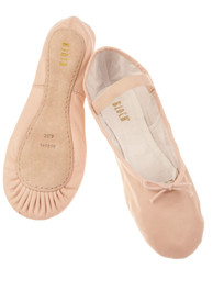 Bloch Pink Leather Ballet Shoes
