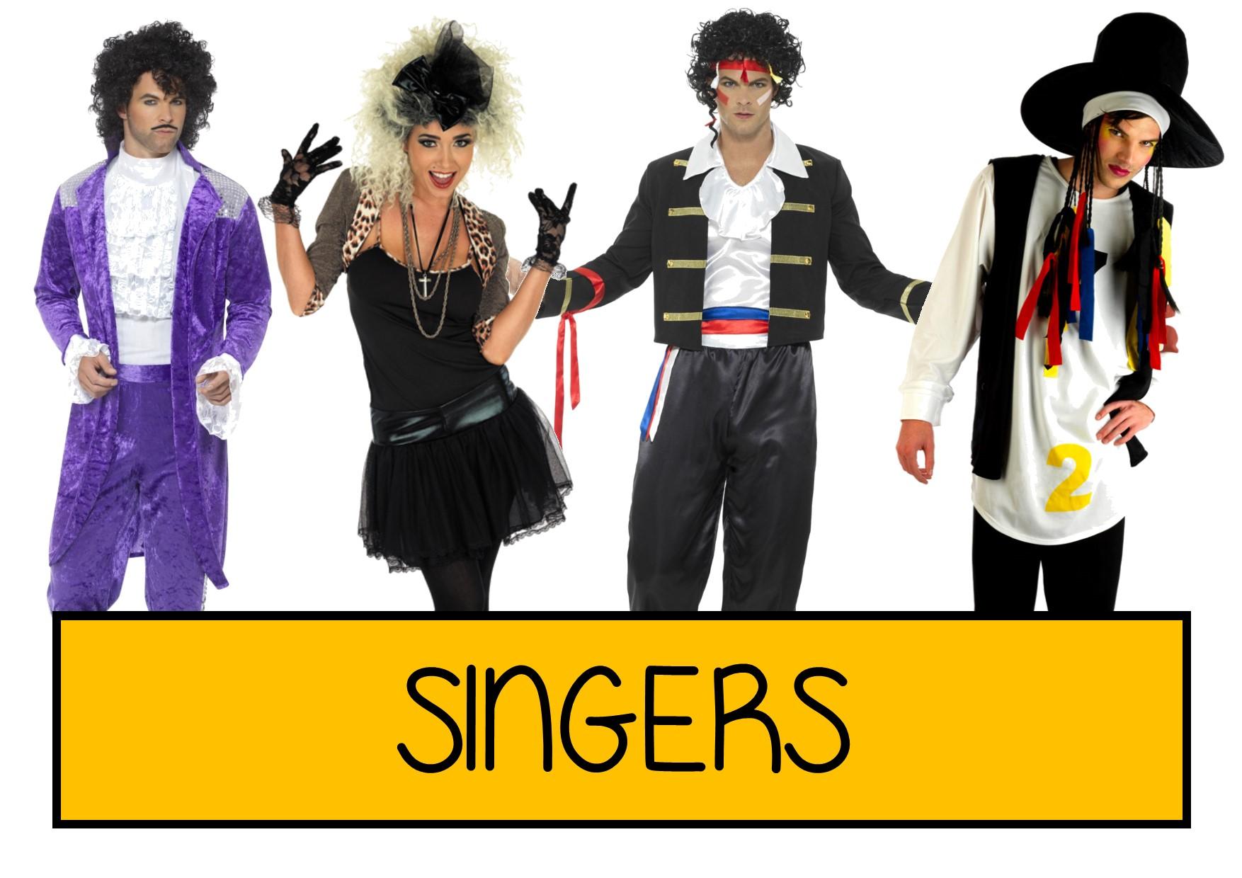 singers fancy dress ideas