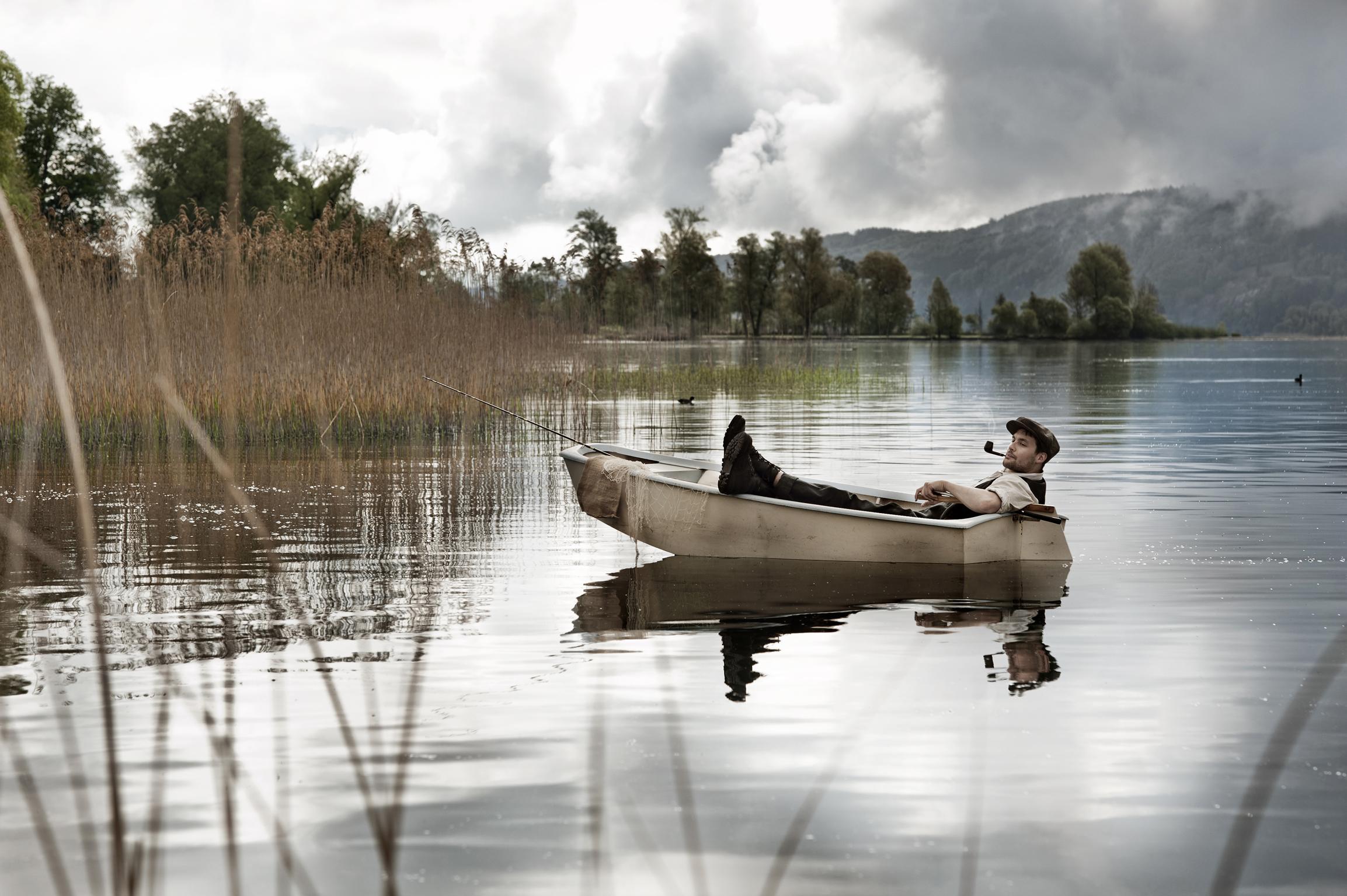 Auf ruhigem Wasser kann jeder leicht