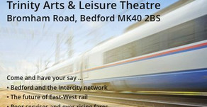 Action on Railways – public meeting – Saturday 16 March in Bedford