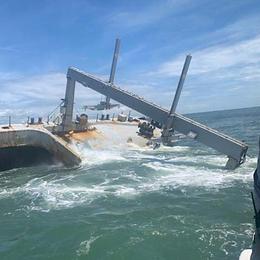 BRIDGEPORT Salvage Work Continues