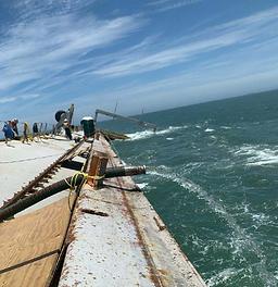 BRIDGEPORT Salvage Efforts Continued Through Weekend