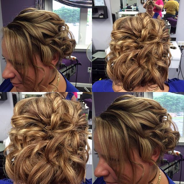 Updo design by Jamie