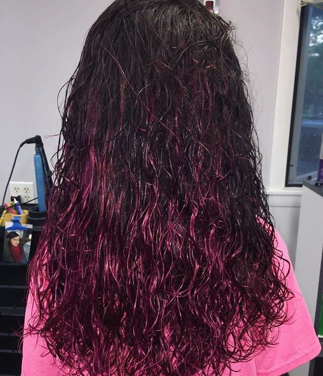 Pinktober hair