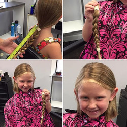 Donated to wigs for kids !! 10_ or more !