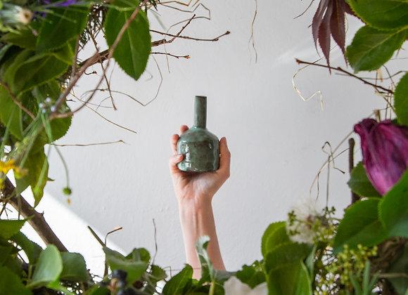 Green bud vase I
