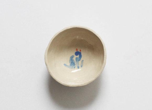 Cat bowl colored I