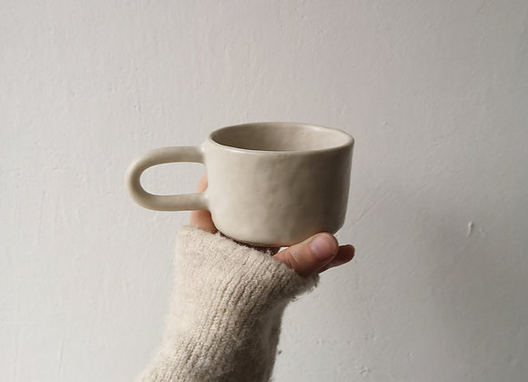 Matte coffee cup