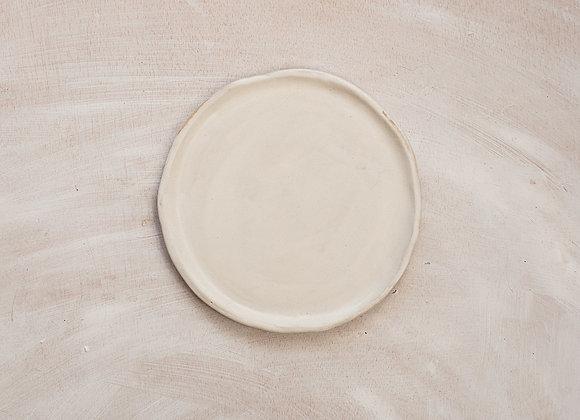 Cake plate white