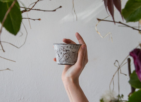 Faded blossom cup