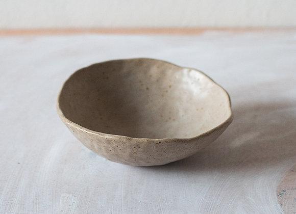 Speckled low breakfast bowl
