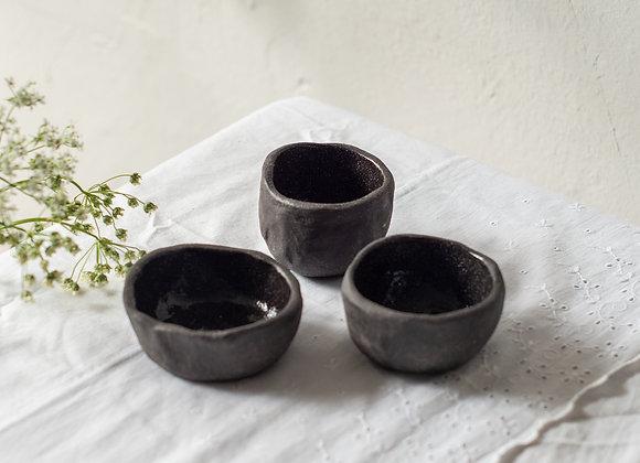 Set of small bowl friends black
