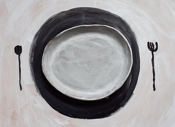 Wabisabi plate III