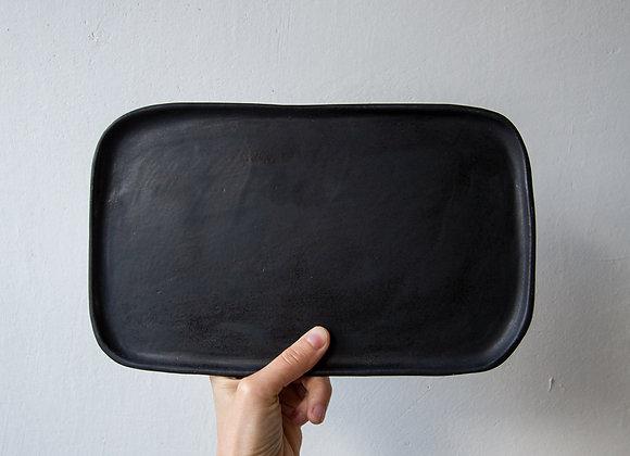 Rectangular plate, 29 cm