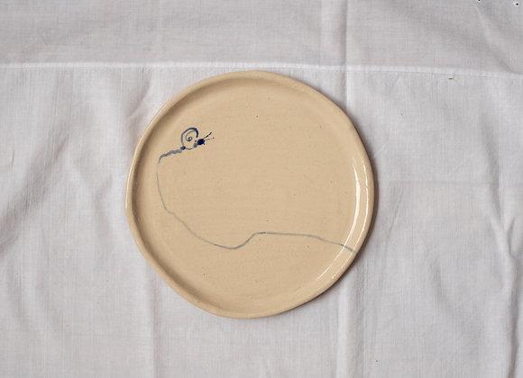 SNAIL PLATE (cake)