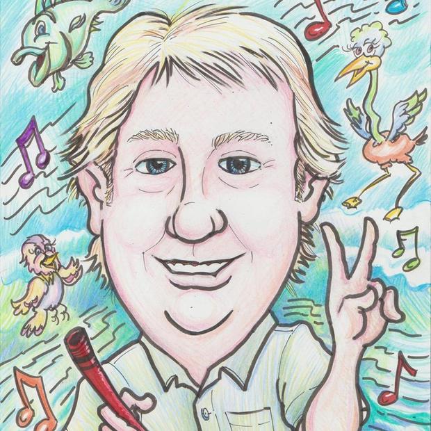 Mark Douglass, Caricature Artist
