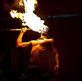 Polynesian Fire Dancers