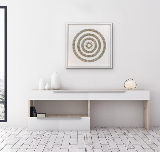 Ammonite 74cmx74cm