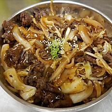 Beef/bulgogi bowl