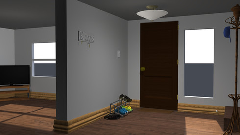 Interior House Render