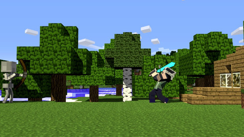 Minecraft Animations (Click for audio)