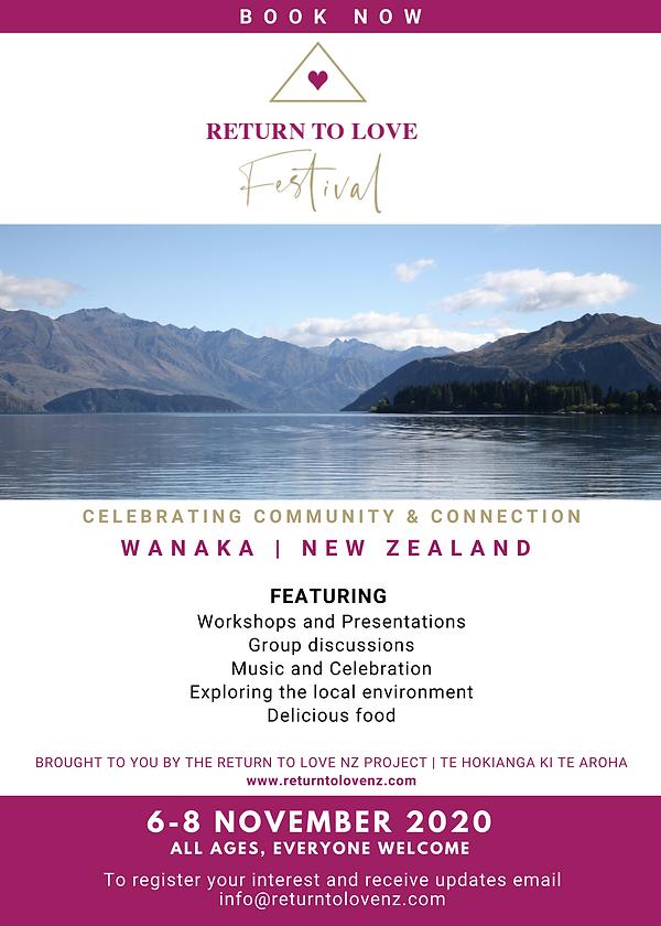 RTL Festival Wanaka NZ 2020 Save the dat