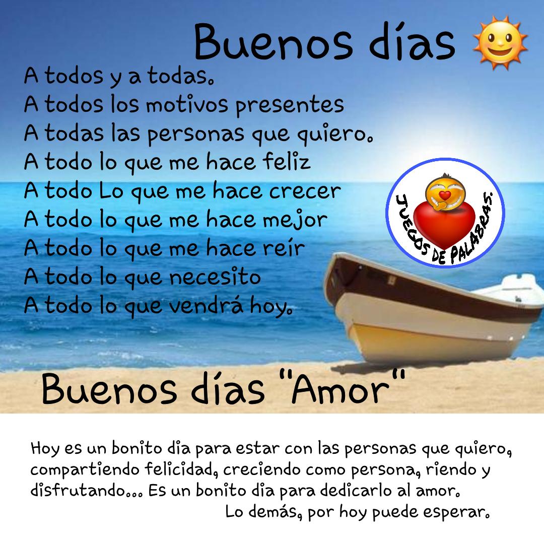 15 Buenos dias