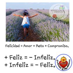 Formula Felicidad SATISFACCION