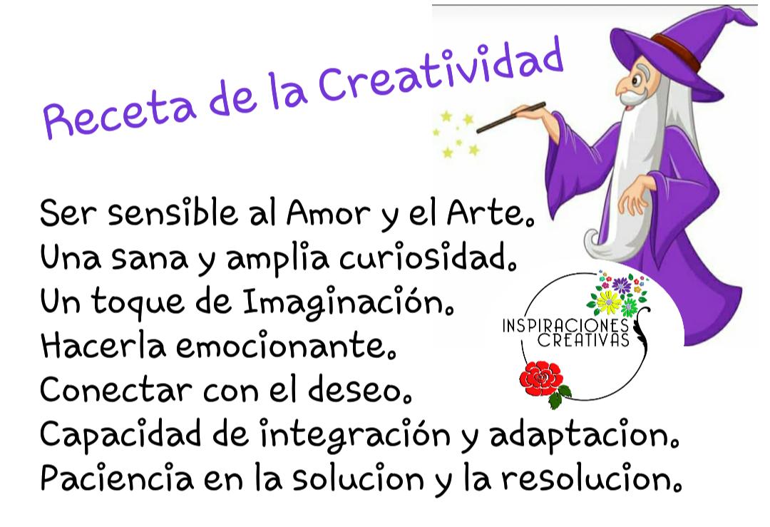 Receta de la Creatividad