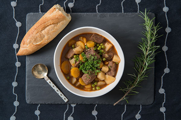 beef stew, maine food photography