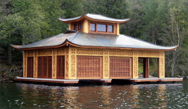 Asian Inspired Boathouse