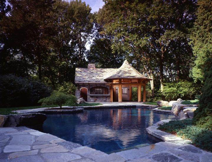Stone Pool Pavilion