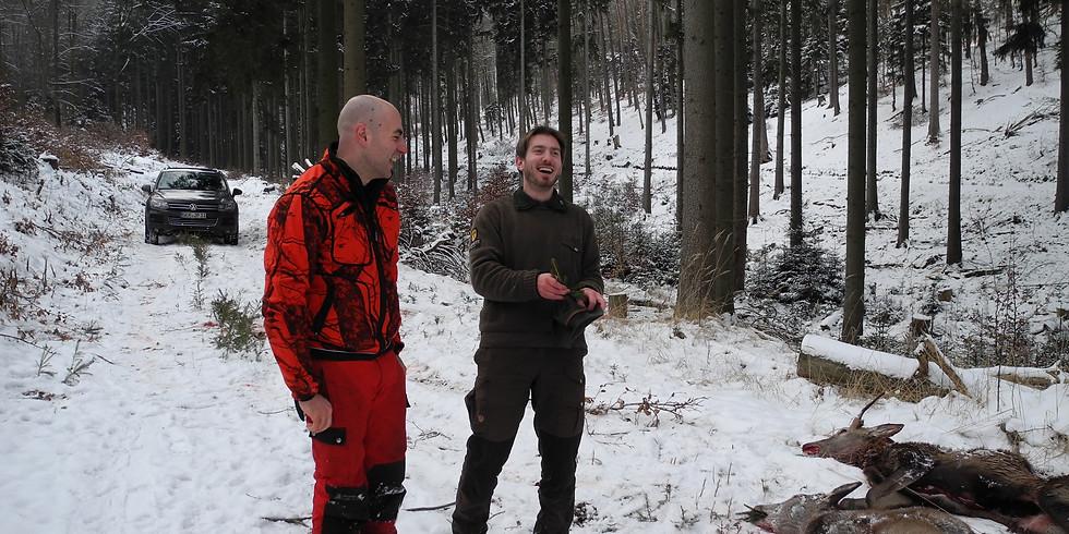 Danke-Jagd für Jagdteammitglieder