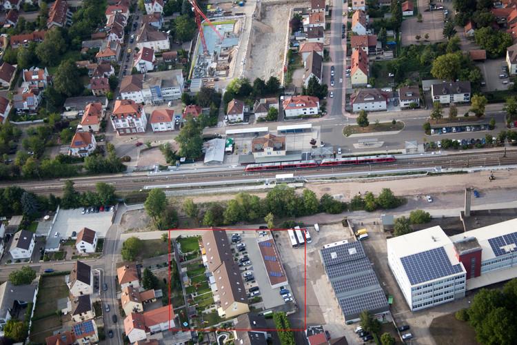 Luftbild Beethovenstraße