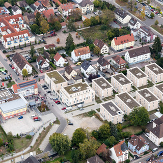 Luftbild Stadtkern Kandel