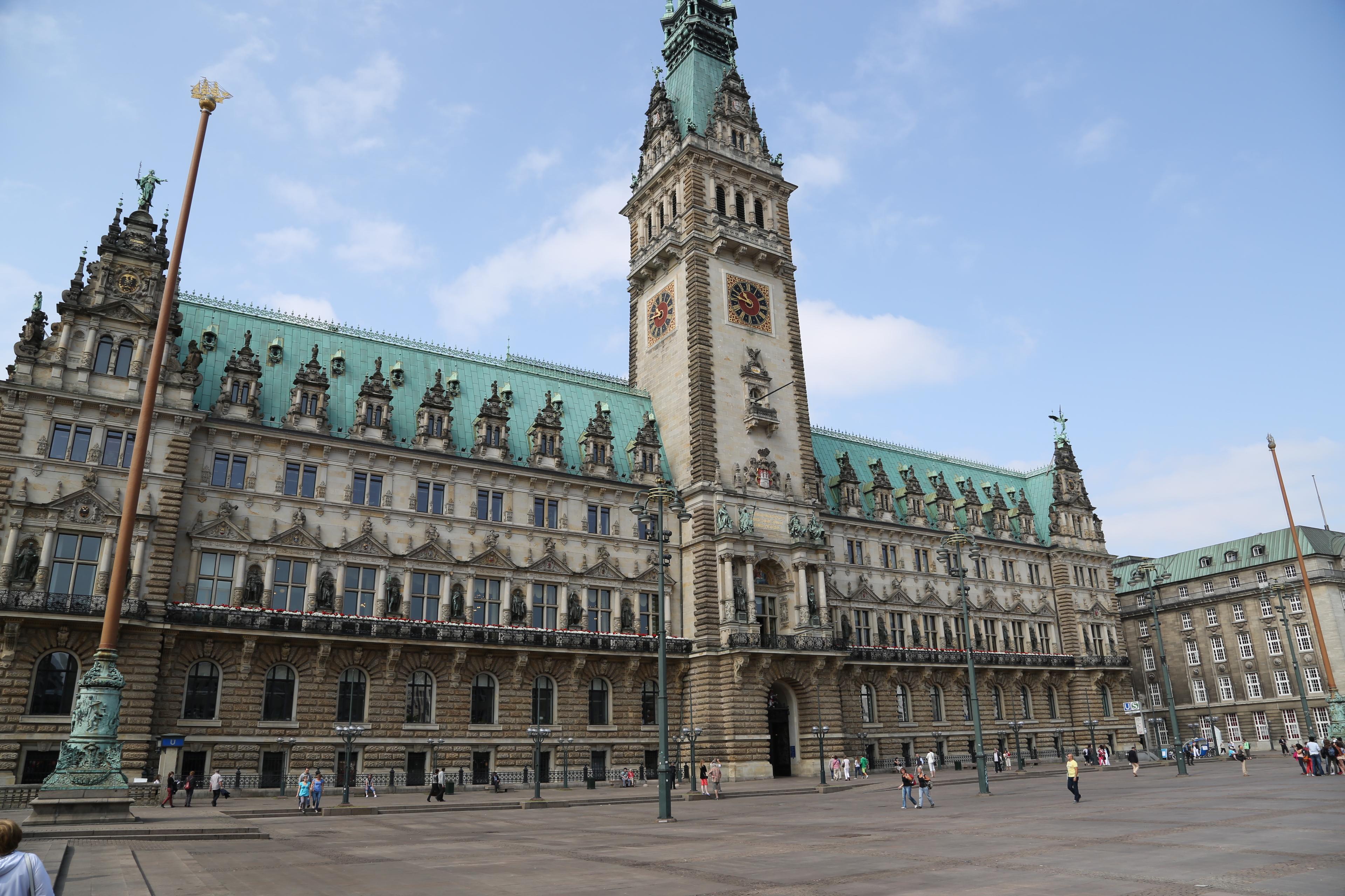Platz 4: Hamburg, Deutschland