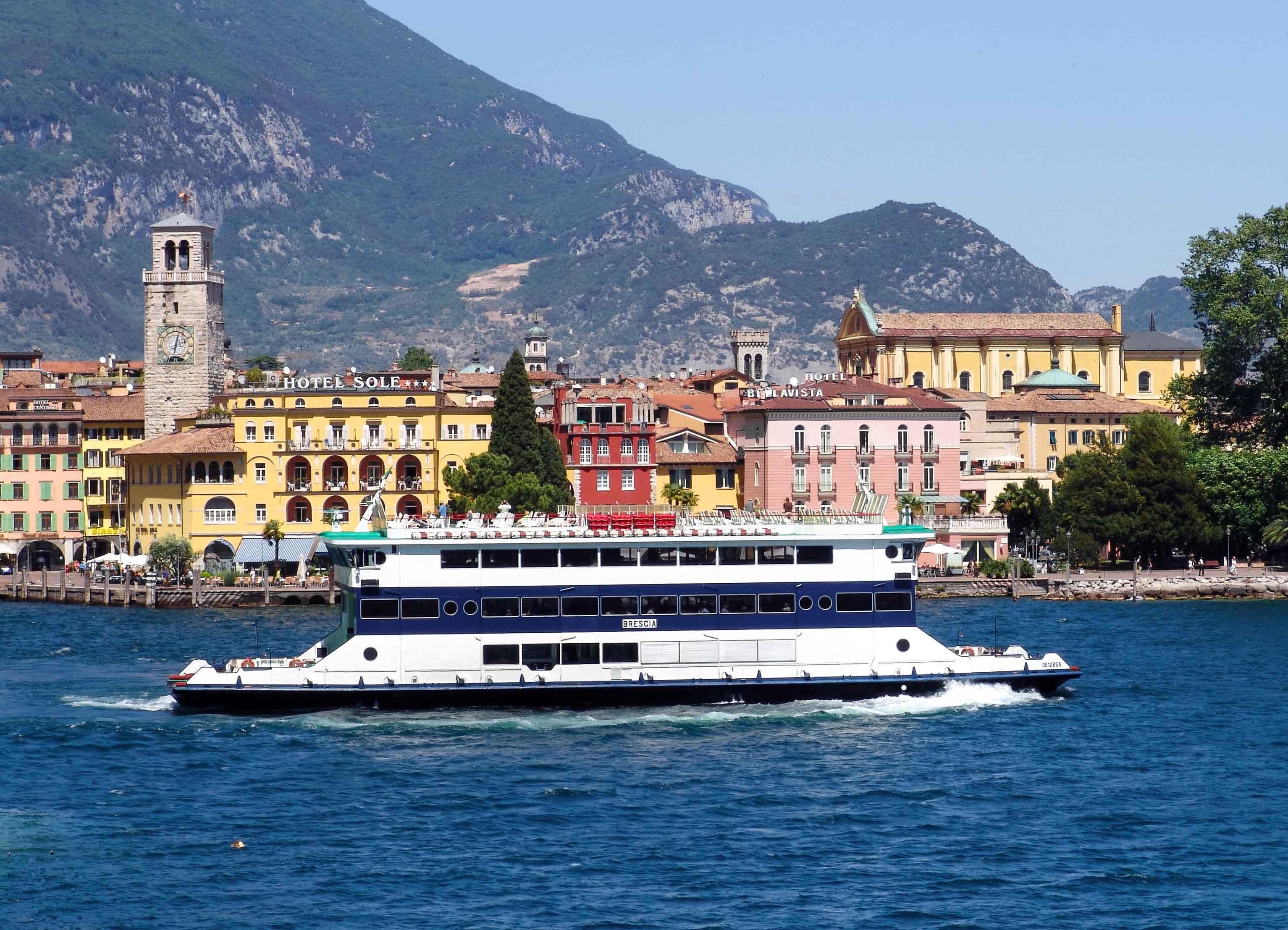 Platz 7: Gardasee, Italien
