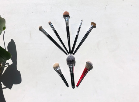 My go-to makeup brushes