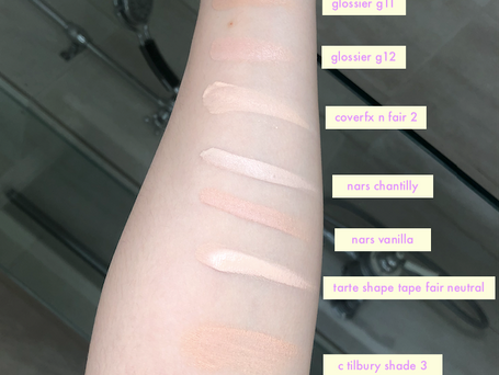 Kosas... I love you but, WTF is your shade range?